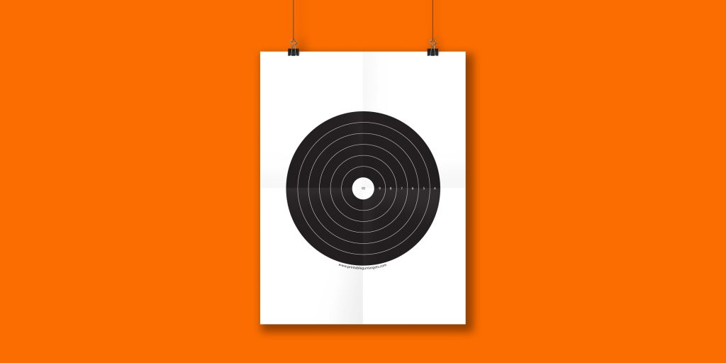graphic relating to Printable Bullseye identify bullseye Archives Printable Gun Aims